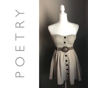 ❤️Poetry Dress with belt